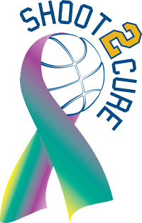 Shoot 2 Cure with basketball ribbon